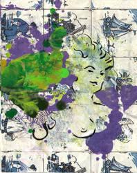 Hidden In Green And Purple by jjvenema