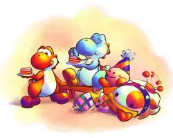Happy Yoshi Day by F1fth