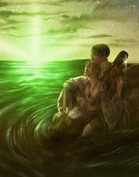 Flash of Green by kheelan