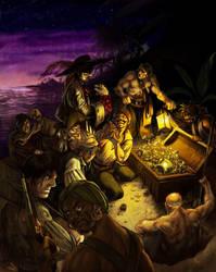 Greedy Bunch of Rogues by kheelan