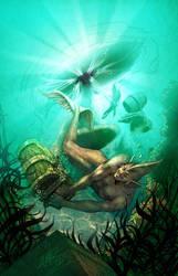 Underwater Mischief by kheelan