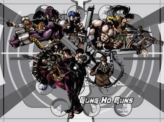 Fear the Gung Ho Guns by kheelan