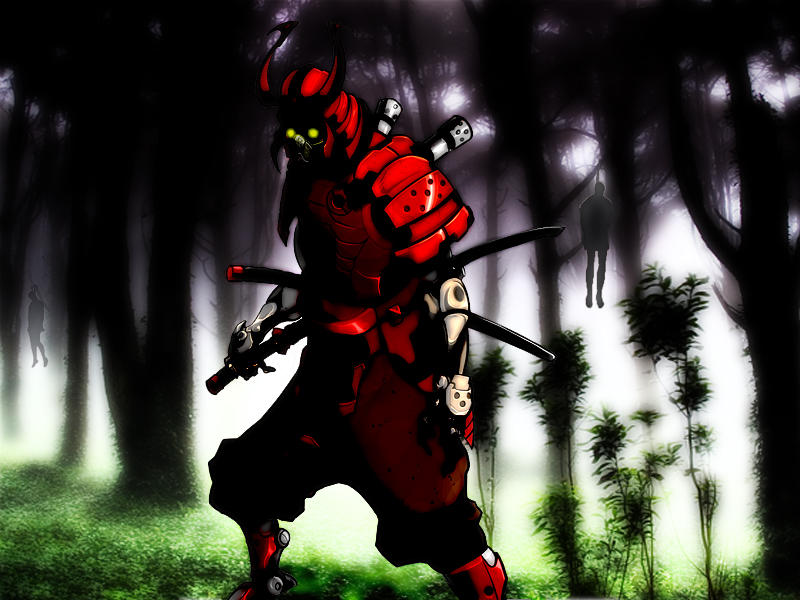 Cyber Samurai by scarified8