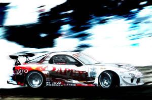 Rx-7 Drift by scarified8