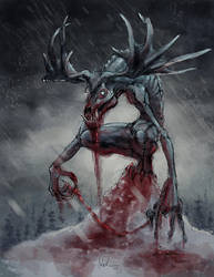 Wendingo or Bullwinkles Revenge by DerekTall