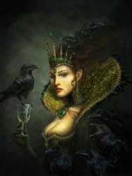 Lady Corvina by DerekTall