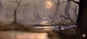 Into the marshes by FORCII