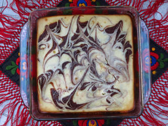 Marbled Cheesecake Brownies by Kitteh-Pawz