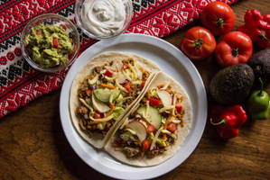 Ground Pork Tacos by Kitteh-Pawz