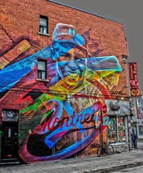 Tribute to Jackie Robinson by Kitteh-Pawz