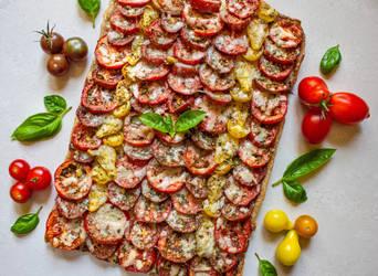 Tomato Tart by Kitteh-Pawz