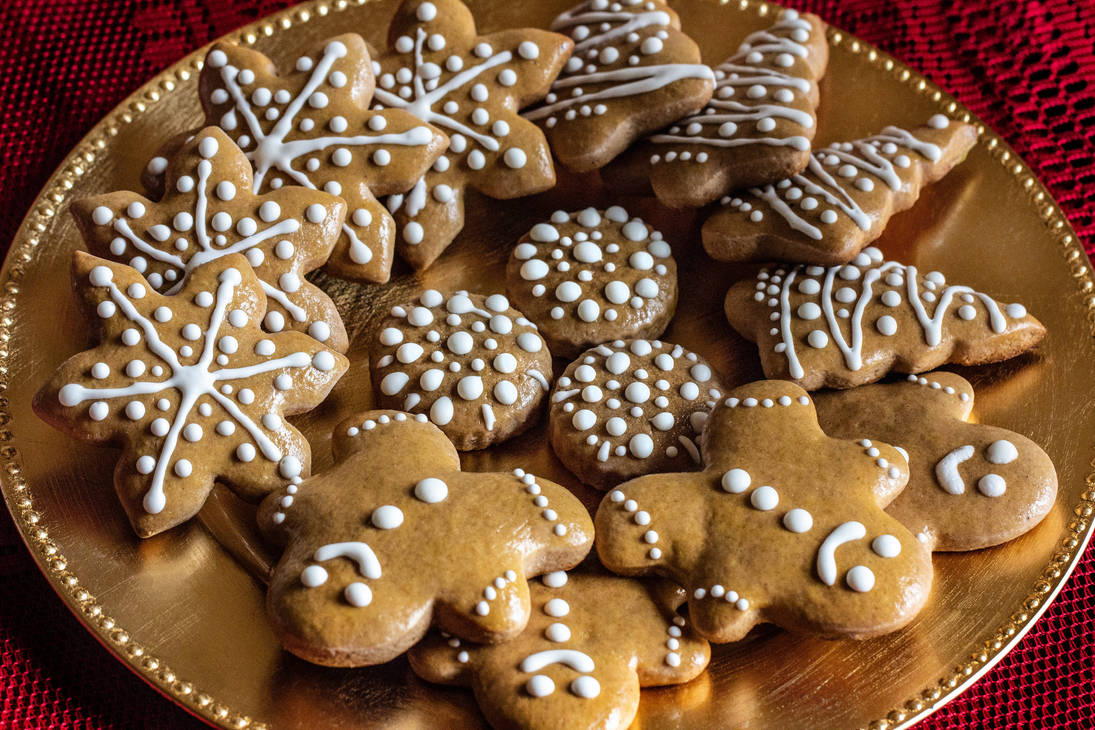 Soft Honey Holiday Cookies by Kitteh-Pawz