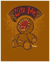 Loving Lamprey Bear by pseudo-manitou