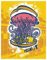 Peanut Butter Jellyfish Sandwi by pseudo-manitou
