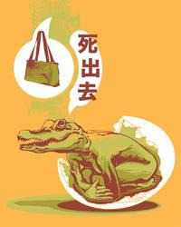 handbag at birth by pseudo-manitou