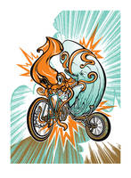 Monsters And Bikes by pseudo-manitou