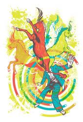 Unicorns on the Brain by pseudo-manitou