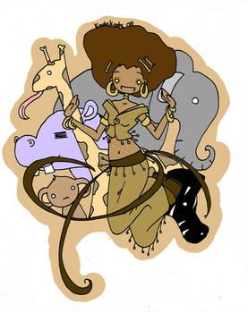 African Princess by Ashlings
