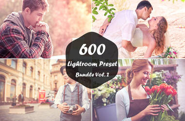 600 Lightroom Presets Bundle Vol. 2 by symufa