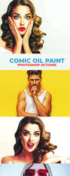 Comic Oil Paint Photoshop Actions by symufa