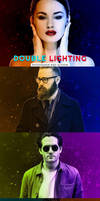 Double Lighting Photoshop PSD Action by symufa
