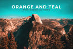 Orange And Teal Photoshop Actions by symufa