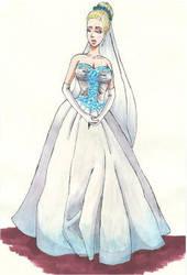 Carly's wedding dress by Oceanisuna