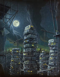 The Stacks by sanabria