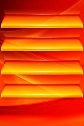 Orange wave by Kavel-WB