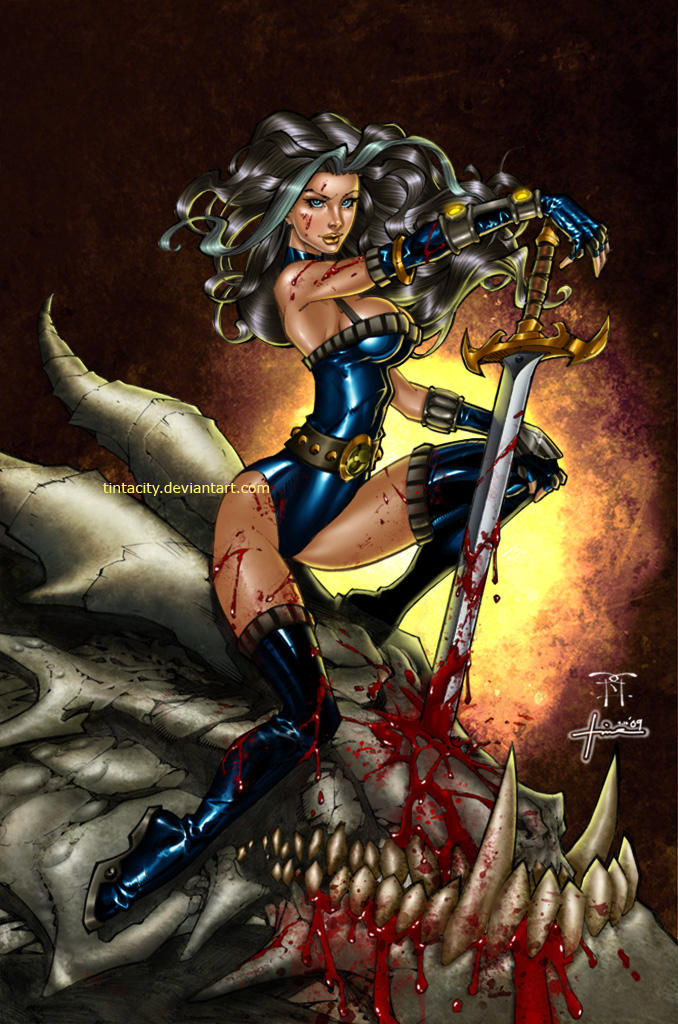 Dragon Slayer Rhea by tintacity