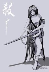 Assassain Sketch by kathy100