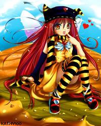 Sticky Sweet Almond Love by kathy100