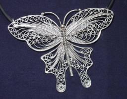 Filigree butterfly by Peevo