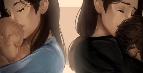 :HAMILTON FANART: Her First and Last Kiss by Nonirikku