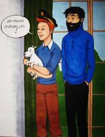 Tintin - Mimicry by zalazny