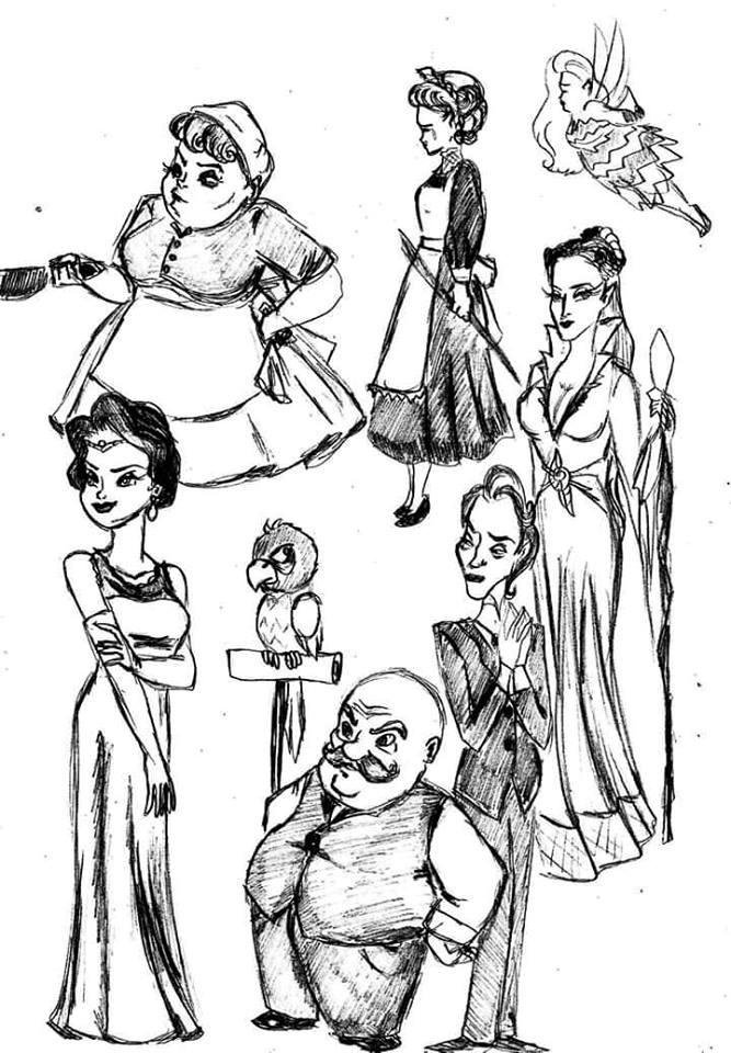 Doodles by salemcattish