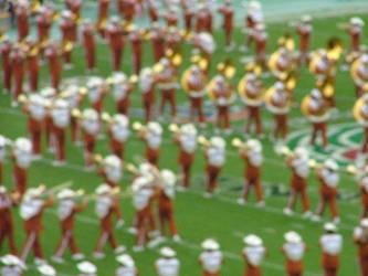 Tx Longhorns Marching Band by QuackerToes