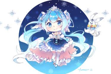 2019 snow miku (2) by Yumkoyun