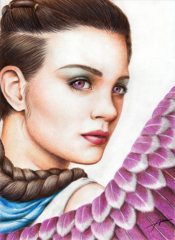 An angel by Abremson