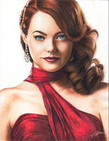 Emma Stone by Abremson