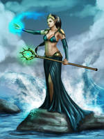 Sea Witch by Abremson