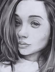 Pencil portrait by Abremson