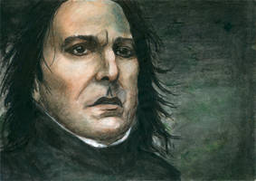 Severus Snape by MariaBruggeman