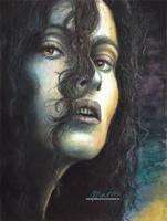 Bellatrix Lestrange by MariaBruggeman