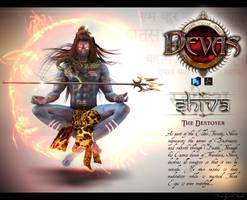 Shiva by obssydian