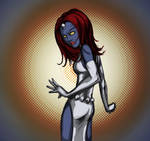 A bit more Mystique... by DouggieDoo