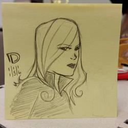 DSC 11-15-16 - Black Widow by DouggieDoo