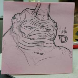 DSC 11-16-16 - The Rhino by DouggieDoo