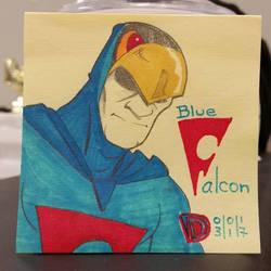 DSC 03 -01-17 Blue Falcon by DouggieDoo