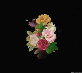 Vintage Flowers Texture by Marysse93